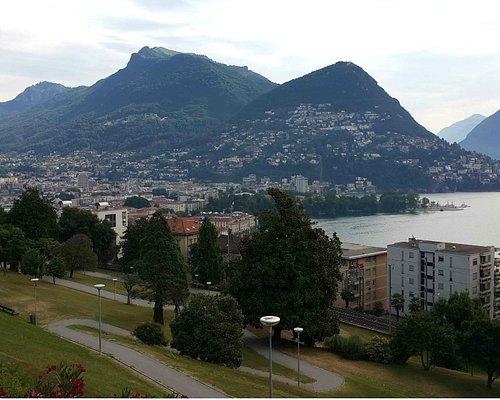 Blick zum Monte Bre