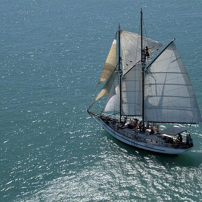 A unique vessel modelled on the first boats to compete in the America's Cup.