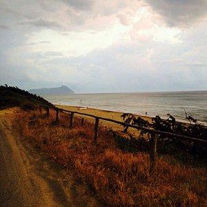 Spiaggia fine nella cornice incantata di Sabaudia