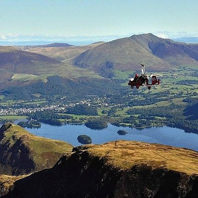 Flying over the lakes coundn't be safer