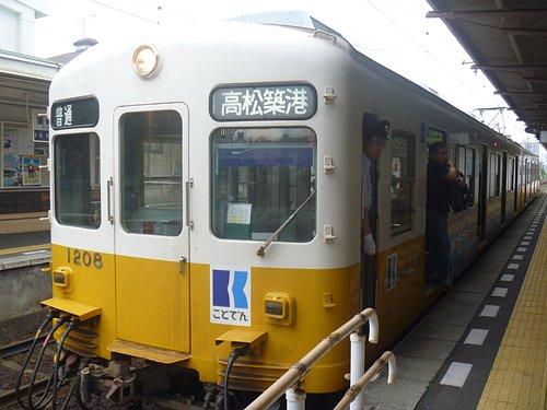 高松築港行き上り電車