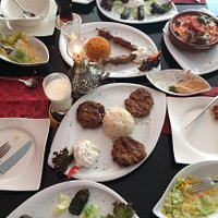 It was really good taste. The Turkish kebab and kofta made very well, we couldn't breath while e