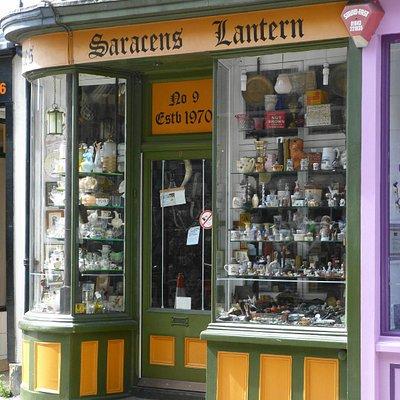 Saracens Lantern antique shop, Canterbury