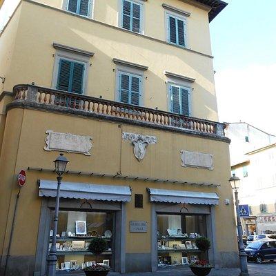 Parte superstite dell'antico Palazzo Turini a Piè di Piazza