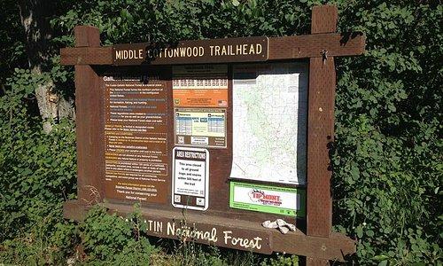 Middle Cottonwood Trailhead 6