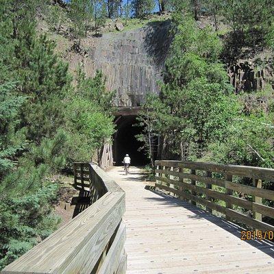 Tunnel North of Mystic Trailhead