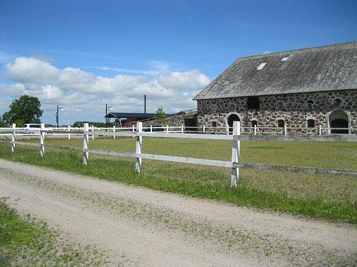 dairy farm house
