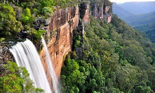People feel exhilarated at Fitzroy Falls!
