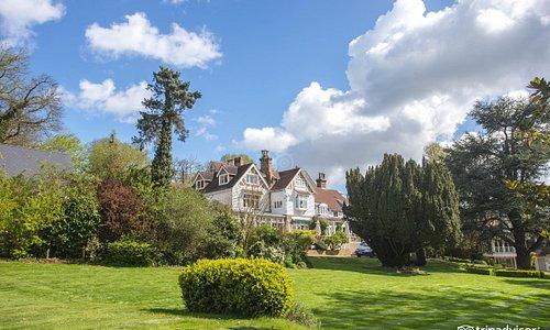 Garden at the Rowhill Grange Hotel & Utopia Spa