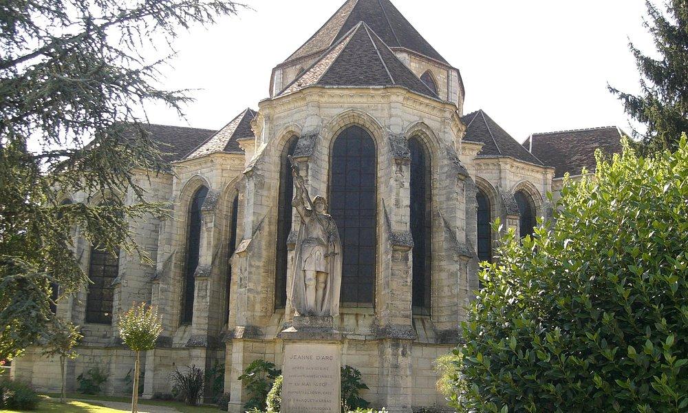 Notre-Dame-des-Ardents et statue de Jeanne d'Arc