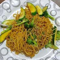 Fried Buckwheat Noodles