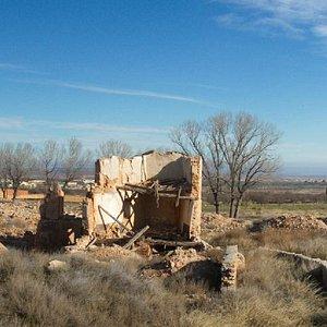 Belchite: old town in ruins