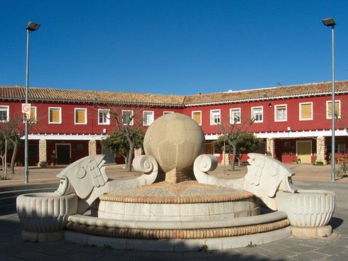 Belchite: new town