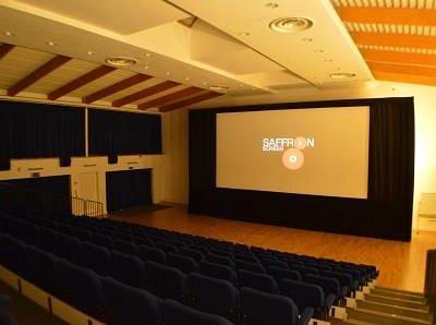 Saffron Screen auditorium