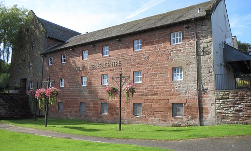 Burns centre by the River Nith