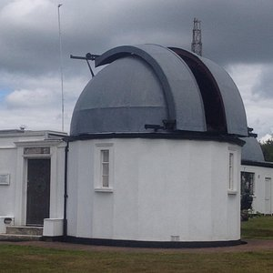 Norman lockyers telescope and dome