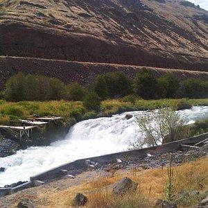 Sherer Falls on the Deschutes River, Maupin, Oregon