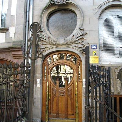 Magnifique entrée d'immeuble