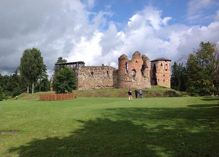 Вид на крепость!