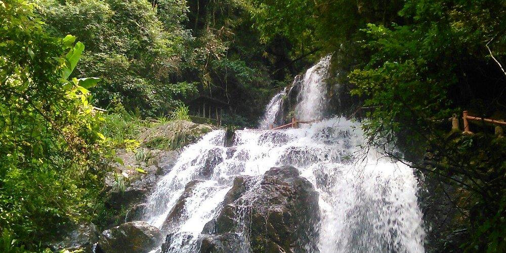 One of the main waterfalls