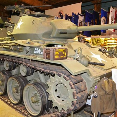 WWII M-24 Chaffee light tank