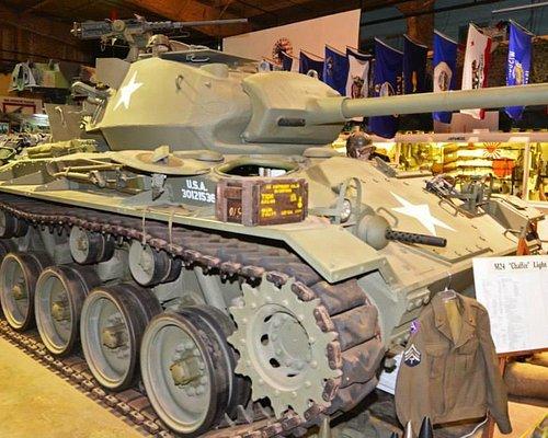 WWII M-24 Chaffee light tank