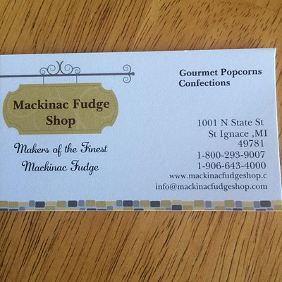 Mackinac Fudge Shop