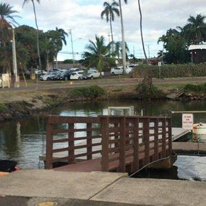 Located at end of pier below Haleiwa Joe's
