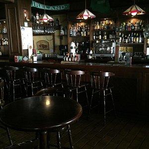 Saint Patricks Irish tavern. Great music and great staff