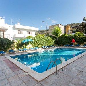 The Pool at the Hostal Valencia