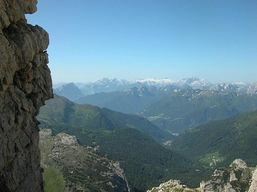 View from Forcella Travenanzes