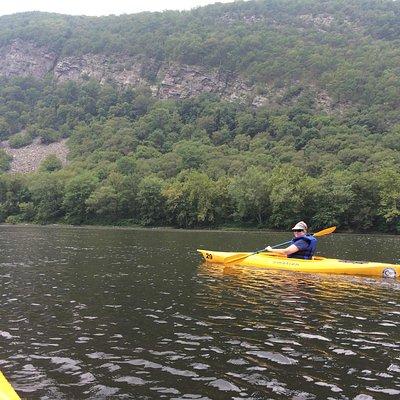 Paddling down the Delaware