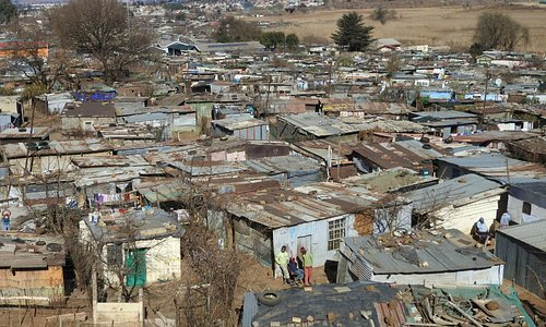 Soweto slums