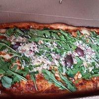 Pizza por metro Rucula Rikisima !!