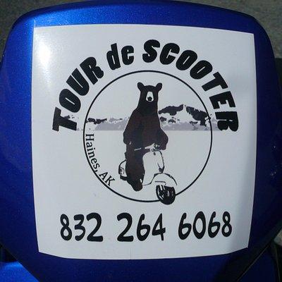 Tour de Scooter Haines Alaska