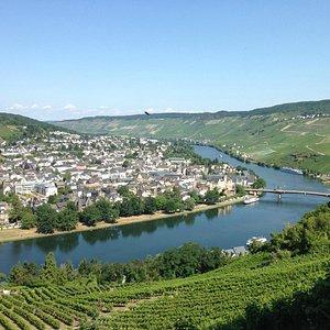 A view from near Landshut castle