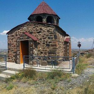 Saint Grigor Shrine      Oshakan, Armenia