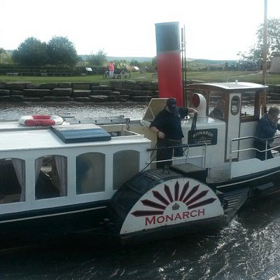 Paddle Steamer Monarch
