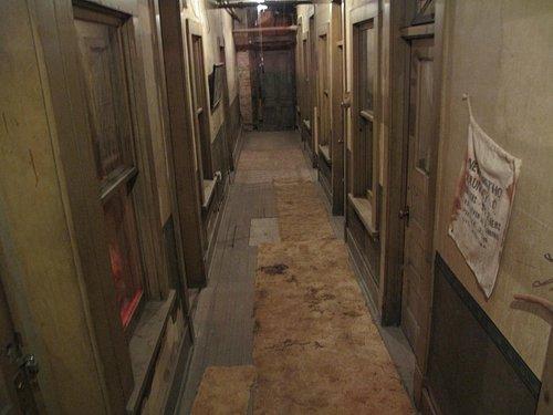 Basement hallway in Dumas Brothel
