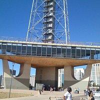Museu Nacional de Gemas, primeiro pavimento da torre de TV