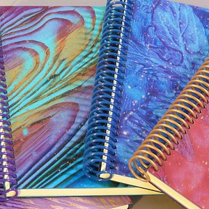 original journals by Karen Saro of Touch the Sky Creations