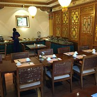 Inside the dining area