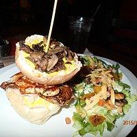 Chacha Fitness Burger