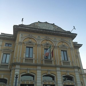 Front view to Salieri's theater