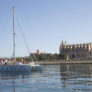 excursión catamaran Oasis mallorca