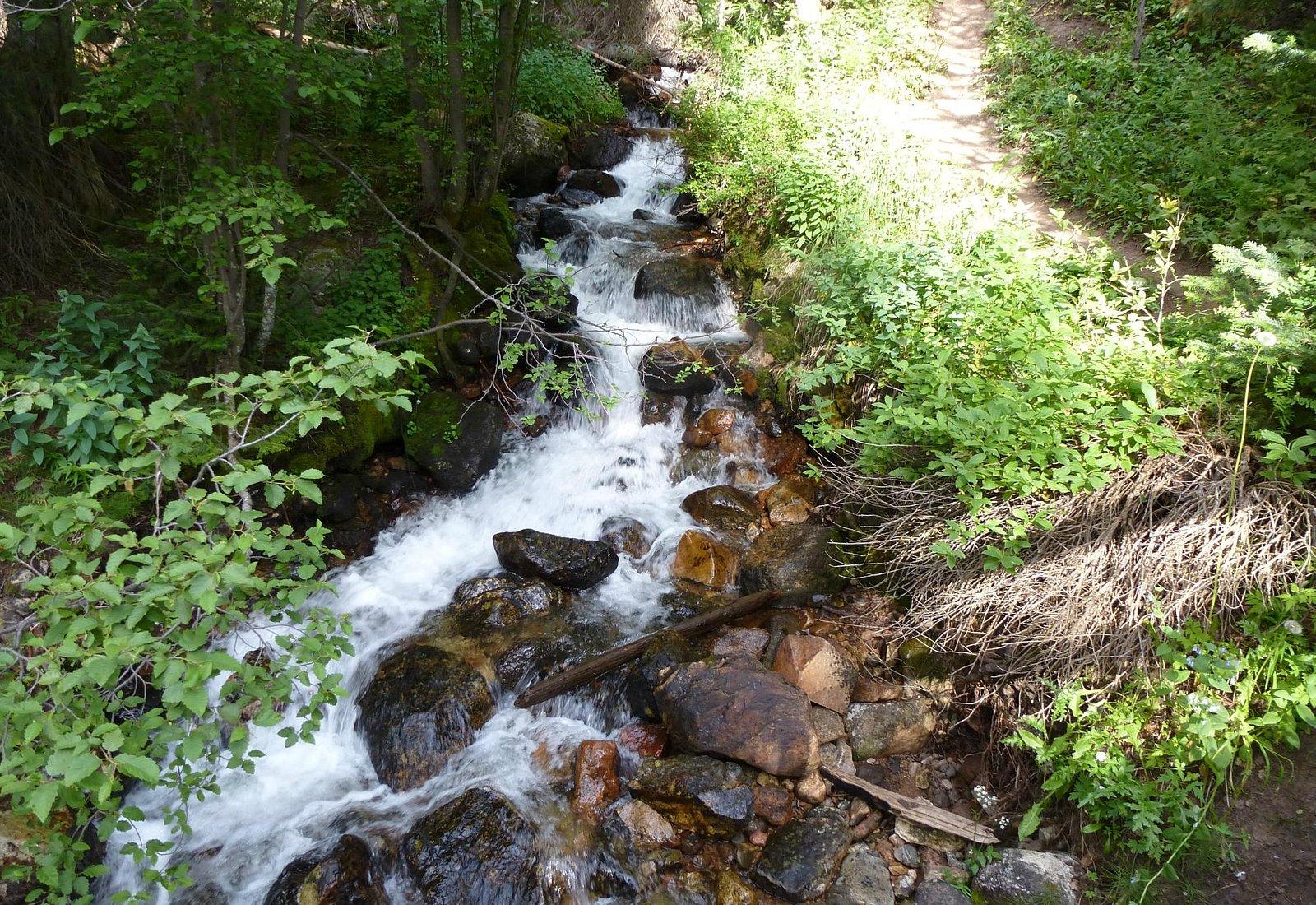 Meadow Creek cascade