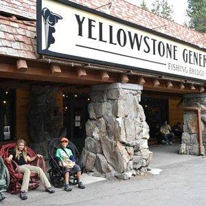 Lounging in Yellowstone