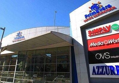 Entrata Centro Commerciale.
