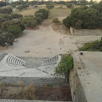 Ancient Olympic Stadium - Rhodes