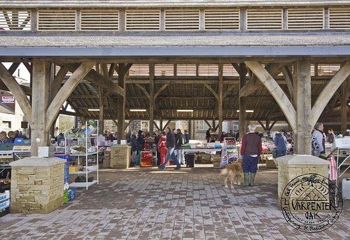 Penistone Market. Carpenter Oak Ltd
